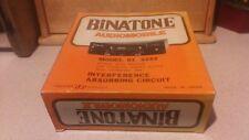 BINATONE AUDIOMOBILE MODEL 01/3242 CAR STEREO LATE 1970'S 1980'S NEW OLD STOCK