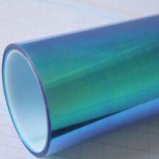 Pellicola adesiva CAMALEONTE BLU fari fanali auto moto cm 50 x 30cm