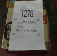 Travis Scott X Mcdonalds Burger With Receipt #76And Box With Mc donalds receipt