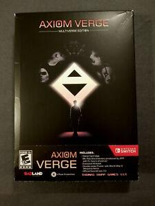 Axiom Verge: Multiverse Edition Switch - Nintendo Switch, 2017 CIB