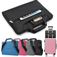 "For 11"" 13"" 15"" Notebook Laptop Carrying Bag MacBook Acer Lenovo Messenger Case"
