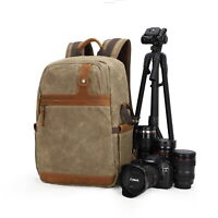 DSLR SLR Outdoor Waterproof Camera Backpack Shoulder Bag Case For Canon Nikon