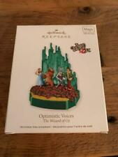 Hallmark Keepsake Ornament The Wizard of Oz Optimistic Voices 2011 Magic Sound