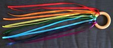 dance ribbons rainbow ribbon rings sensory play movement rhythm Gymnastics