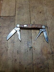 Rare Winchester 4962 pocket knife 4 bladesRare