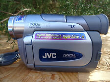 Jvc D90 Camcorder - Silver Gr-D90U For Parts Repair As Is