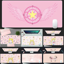 Anime Sailor Moon Pink Large Gaming Mouse Pad Computer Keyboard Pad Mousepad Hot