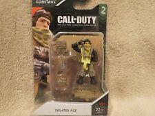 Mega Construx Call of Duty Ww2 Fighter Ace Pilot Series 2 Fmg03 Rare Htf!