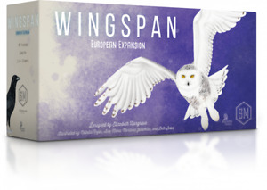 Wingspan European Expansion - For Wingspan Board Game By Stonemaier Games