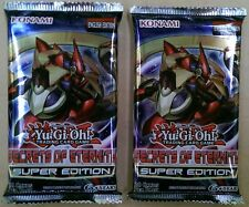 YuGiOh Secrets of Eternity Super Edition x 2 Packets NEW Yu-Gi-Oh trading cards