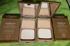 2 X Loreal Air Wear #558 Cream, slightly imperfect, Boxed.