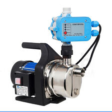1200W High Pressure Jet Water Pump Garden House Tank Irrigation +Auto Controller