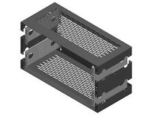RDL RK-2UX 19 inch Utility Rack Chassis/2 RU Extension