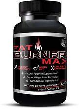 Fat Burner Max Weight Loss Supplement Natural Appetite Suppressant Diet Pills