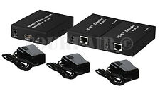 1x2 HDMI 2-Port Splitter Extender Kit over Single RJ45 CAT5e CAT6 Ethernet Cable
