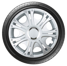 14 Inch Wheel Trim Set GRAPHITE Set of 4 Universal Hub Caps Covers [GREN GRAP]