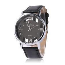 Fashion Men's Casio Sub-brand Luxury Steel Leather Quartz Analog Wrist Watch