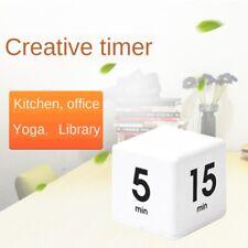 Gestor de temporizador de Cubo Mágico de Rubik 5/15/30/60 minutos Cocina de administración de tiempo de alarma