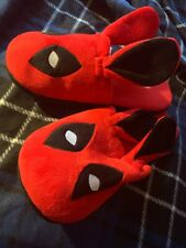 Brand New Marvel Deadpool Bunny Slippers - Loot Crate Exclusive - XL
