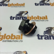 Land Rover Defender + Discovery 2 TD5 Sump Plug + Washer - Bearmach TRL100040