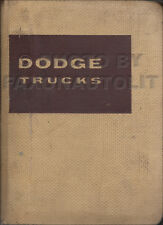 1957 Dodge Truck Data Book Dealer Showroom Album Pickup Power Wagon Panel Etc.