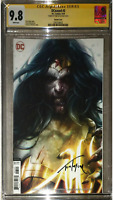 DCeased #3 CGC 9.8 SS Signed Tom Taylor Mattina Wonder Woman Variant Cover Wow!!