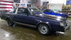 79-87 Buick Regal Coupe Passenger Right Power Window Regulator/Motor OEM
