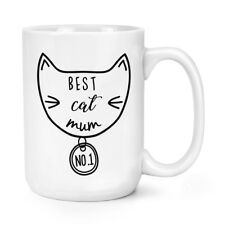 Best Chat Maman 426ml Mighty Tasse - Gros Large Drôle Crazy Cat Lady Chaton