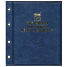 Australia Decimal Coin Album Volume 2 - 12 Pages 1916 to 2018 For 1c to $2