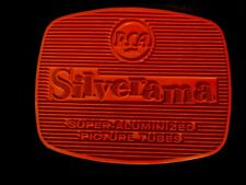 Vintage Rca Silverama Safe Tv Mat Form 5F901 Ad Advertising Rubber Wall Art sign