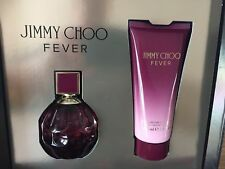 BRAND NEW GENUINE JIMMY CHOO FEVER 60ML EAU DE PARFUM GIFTSET BODY LOTION 100ML