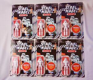 2019 Star Wars Retro Collection # 6 Stormtrooper's in Original Hasbro Box