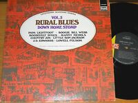"""GREAT BLUES LP- VARIOUS ARTISTS - IMPERIAL 94006 - """"RURAL BLUES DOWN HOME STOMP"""""""