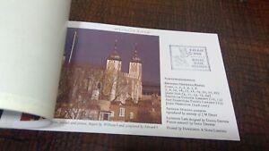 DX11 PRESTIGE BOOKLET LONDON LIFE  STAMP WORLD 90  2X OVERPRINT