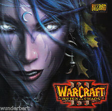*- WARCRAFT III - Reign of CHAOS - PC Spiel (2002)