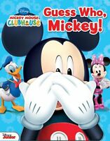 Disney Mickey Mouse Clubhouse: Guess Who, Mickey! by Matt Mitter, Disney Mickey