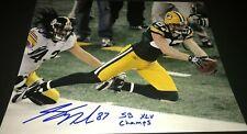 Jordy Nelson SB Inscription Green Bay Packers Signed 11x14 Autographed Photo COA