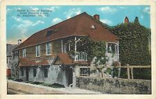 St Augustine Florida~Oldest House in America~1920s Postcard