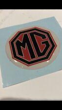 MG Self Ahesive Resin Badge 40 Mm Mgb , Mgc , Midget