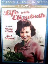 Life with Elizabeth (DVD, 2005, 2-Disc Set) Betty White 16 Episode TV Series