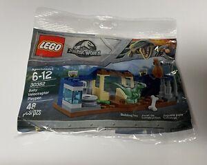 LEGO 30382 Jurassic World Baby Velociraptor Playpen Polybag - NEW