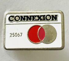 Connexion Mastercard Style Brand Badge Pin France Vintage Rare (G5)