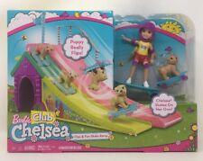 Barbie Club Chelsea Flips & Fun Skate Ramp Playset