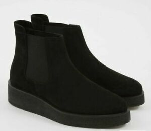 Clarks Originals ORNELLA Chelsea Black Suede Boots Women's UK 6