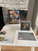 KA-ZAR AND ZABU + MAG Eaglemoss Classic Marvel Figurine Collection