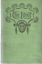 John Kendrick Bangs. THE IDIOT. Harper & Brothers, 1895