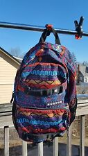 Burton Treble Yell Majestic Plaid Backpack Multi-Color AZTEC BRIGHT