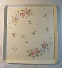 Pfaltzgraff Rectangular Floral Design Serving Tray - 13.5 by 12.5 inch, See Pics
