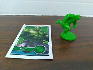 Monopoly Marvel Avengers Replacement Hulk Token & power up card 2014 Edit