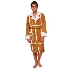 Pijamas y batas de hombre marrón